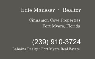 cinnamon cove property contact